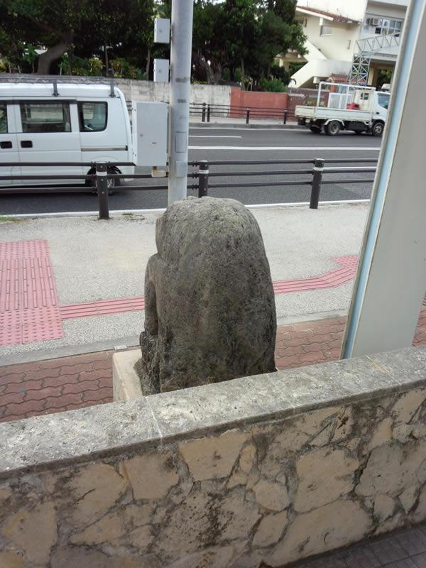 中島石獅子②
