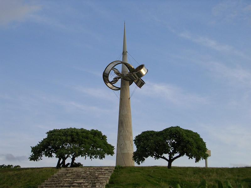 平和記念モニュメント