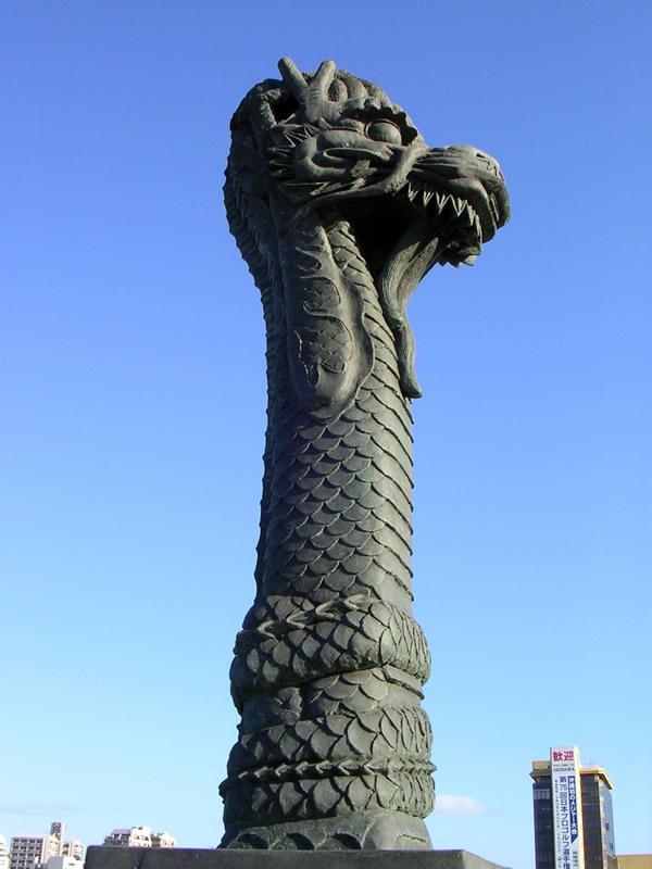 明治橋の龍