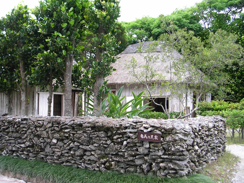 沖縄の民家