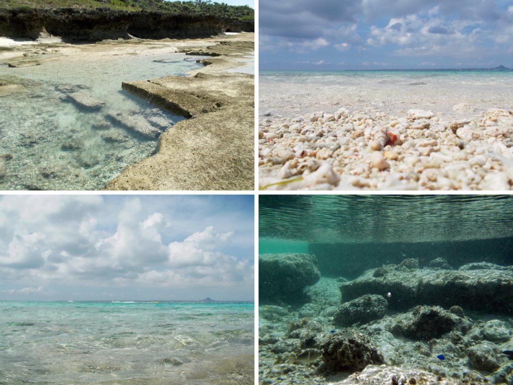 水納島の風景