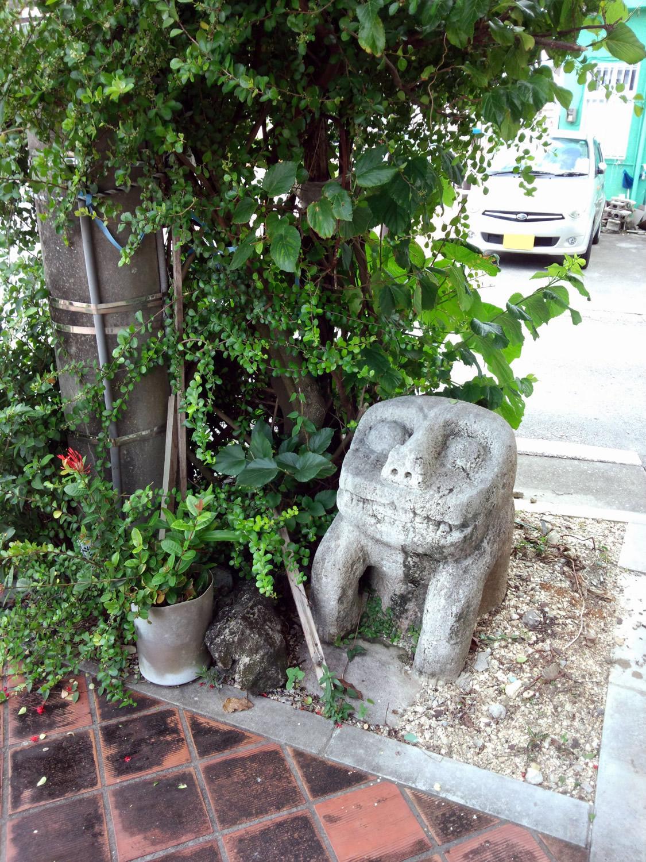 新島石獅子(2)