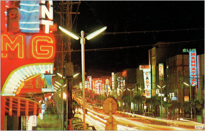 1970年のコザ